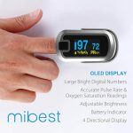 Mibest pulse oximeter